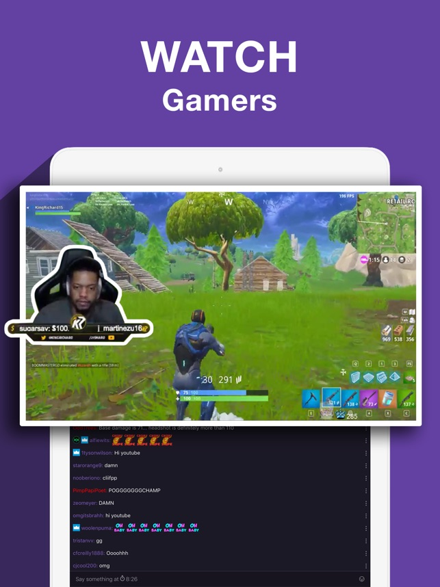 online retailer 4d2c2 e3c88  Twitch  Live Game Streaming on the App Store