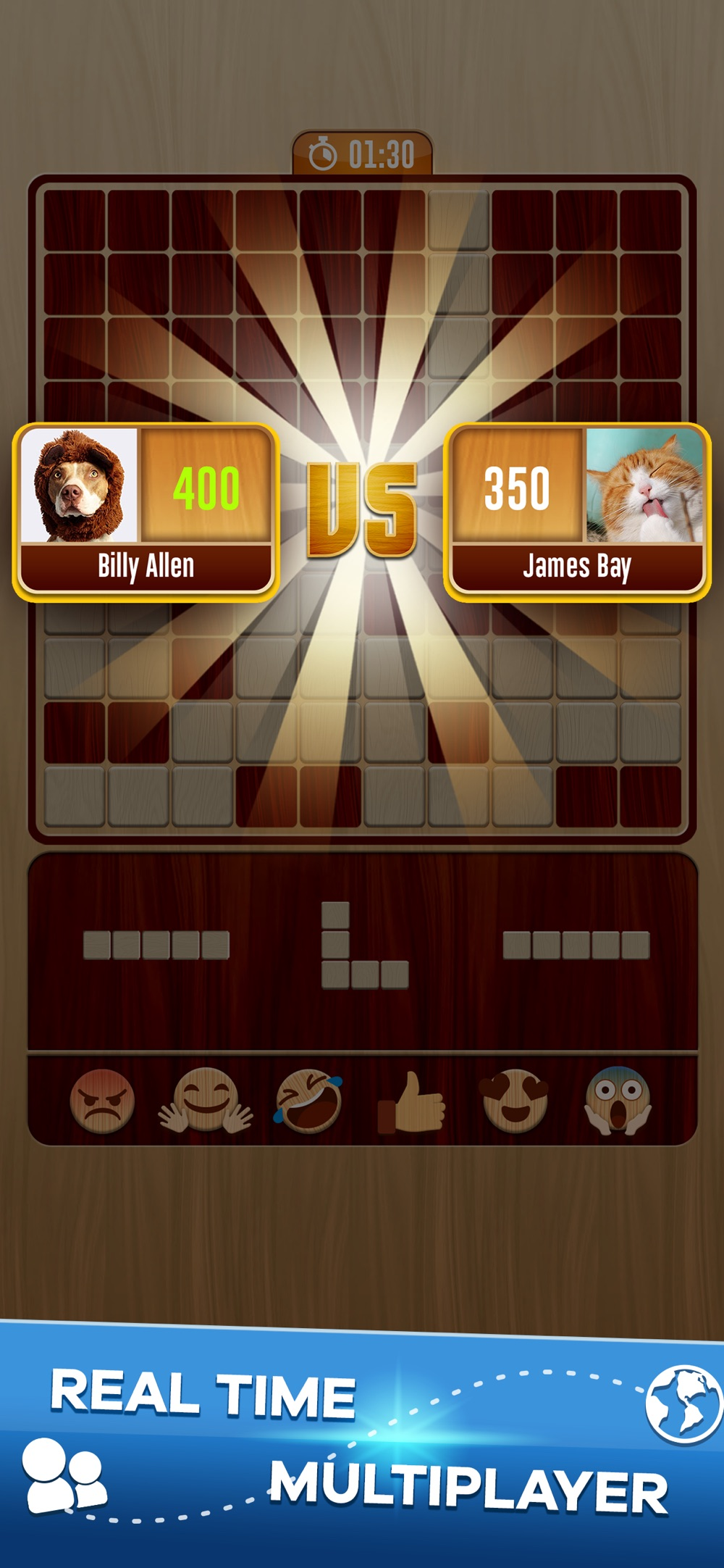 Woody Battle Block Puzzle Dual Cheat Codes