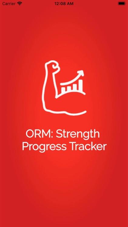 ORM: Strength Progress Tracker screenshot-5