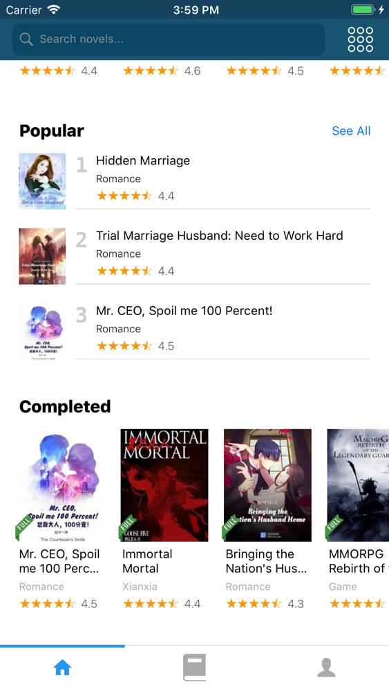 NovelFull - Read novel offline App for iPhone - Free Download