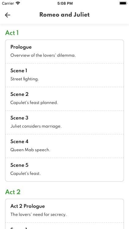 Romeo and Juliet Full Audio screenshot-3