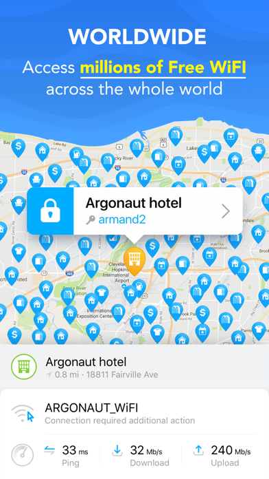 WiFi Map - Get Internet Now for Windows