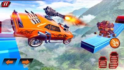 Crazy Shooting Car Stunts Sim screenshot 8