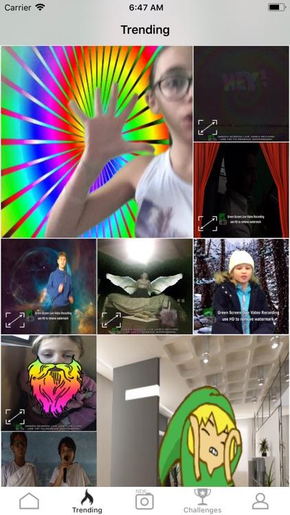 Green Screen Live Video Record screenshot-8