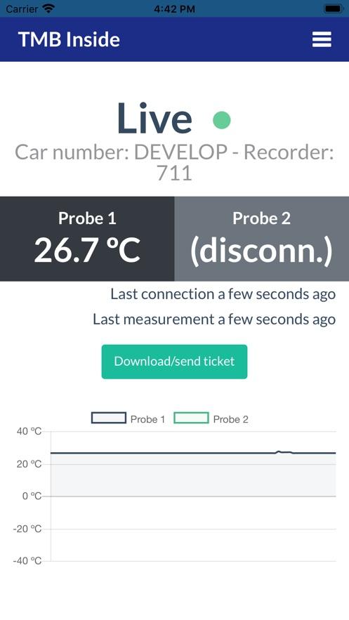 TMB Inside App 截图