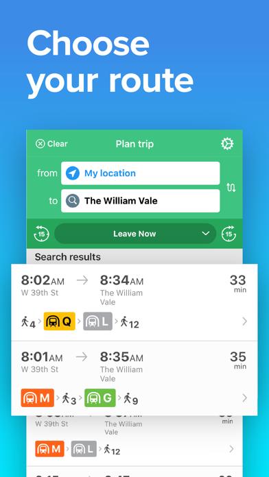 NYC Transit: MTA Subway & Bus Screenshot