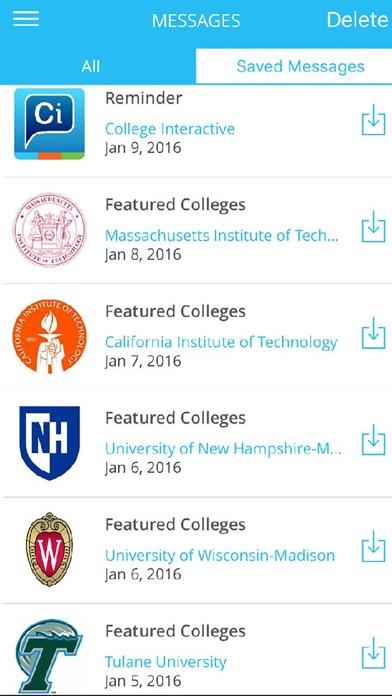 College Interactive screenshot