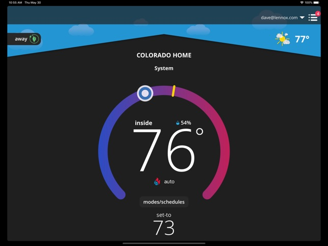 IComfort Thermostat On The App Store