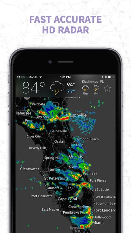 MyRadar NOAA Weather Radar Pro screenshot-0