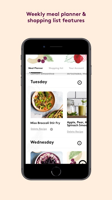 Screenshot for Deliciously Ella App in Germany App Store