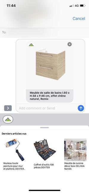 Leroy Merlin Im App Store