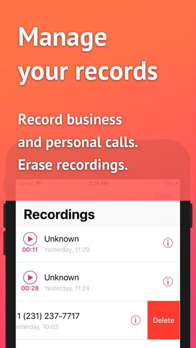 USA Call Recorder Screenshot