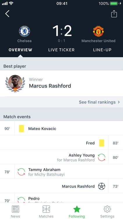 Onefootball - Soccer Scores screenshot-3