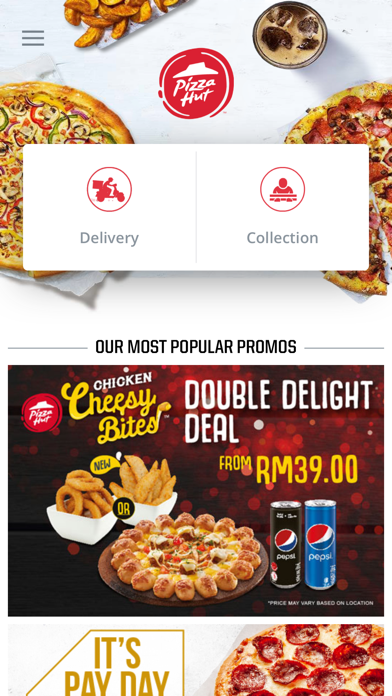 Pizza Hut Malaysia screenshot two