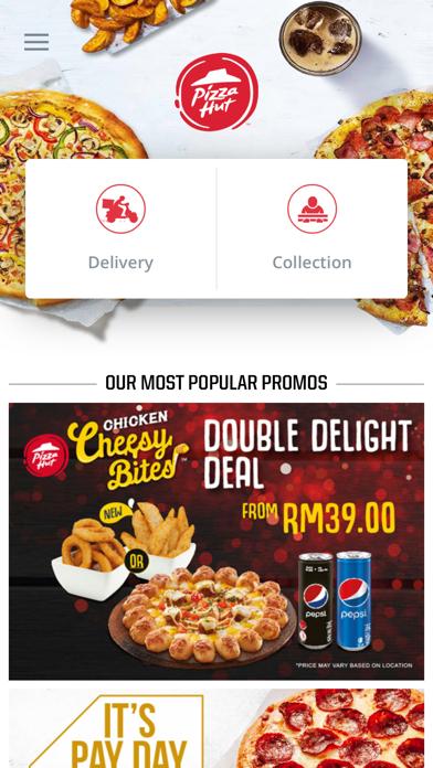 Pizza Hut Malaysia screenshot two