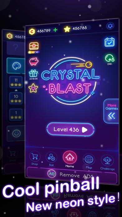 Crystal Blast - Brick Balls screenshot 1