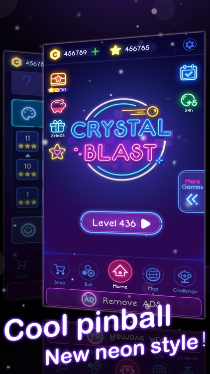 Crystal Blast - Brick Balls