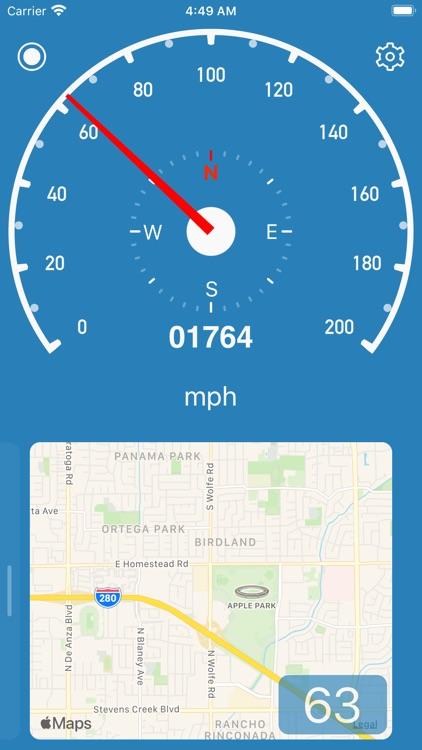 Speedometer Simple screenshot-3