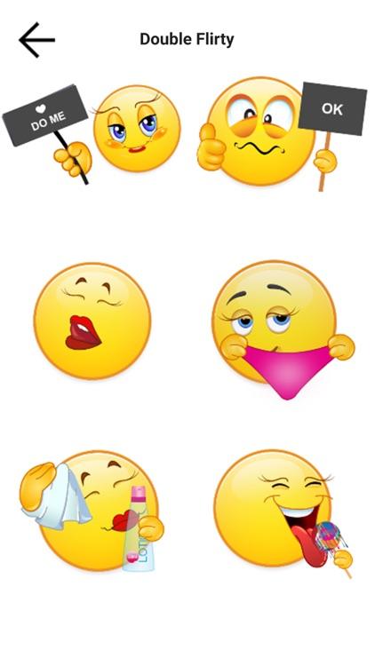 Adult Emojis Sexy Stickers screenshot-4