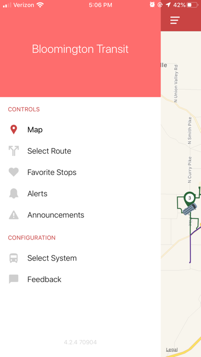 Screenshot for DoubleMap Bus Tracker in Netherlands App Store