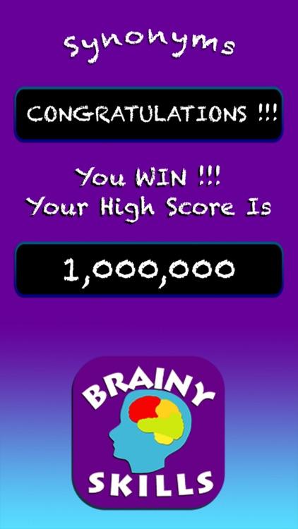 Brainy Skills Synonym Antonym screenshot-7