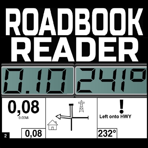 Rally Roadbook Reader