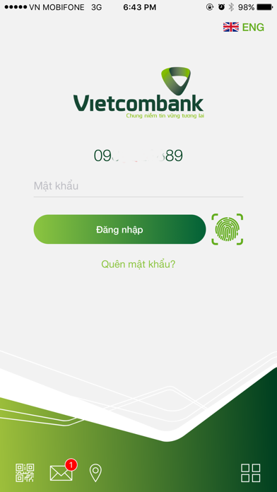 Screenshot for Vietcombank in Thailand App Store