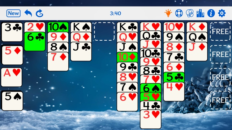 FreeCell Gold