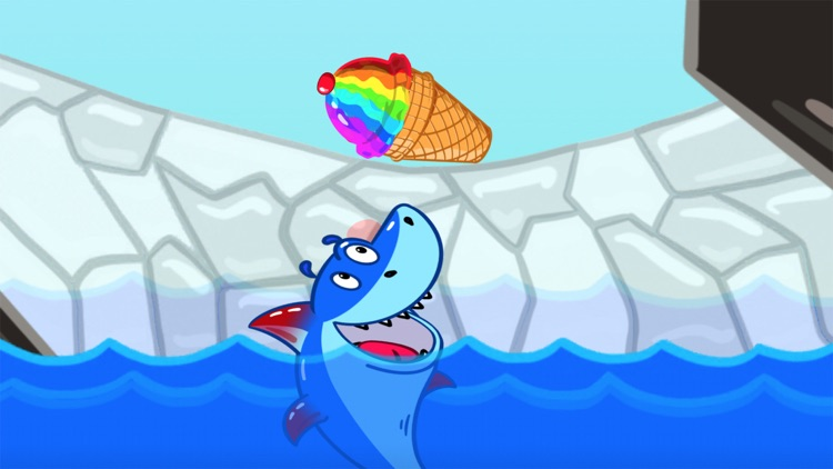 Ice Cream Mixer: Shark Games screenshot-8