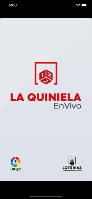 paquete elegante y resistente auténtico auténtico descuento La Quiniela en vivo - Oficial en App Store