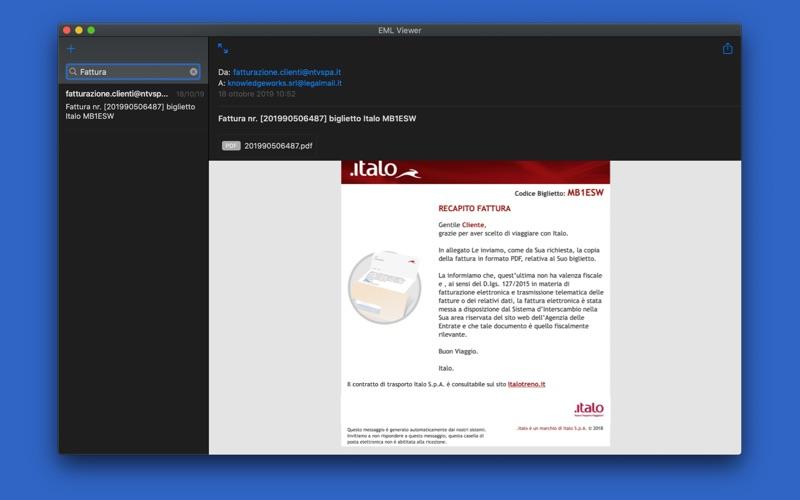 EML Viewer Pro EML file reader for Mac