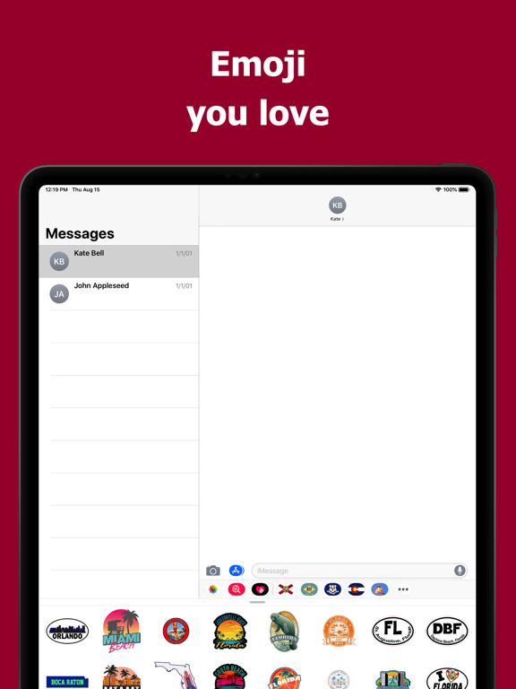 Florida emojis - USA stickers screenshot 7