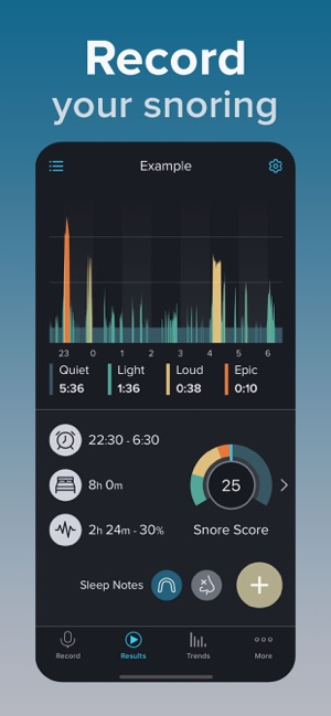 SnoreLab : Record Your Snoring on the App Store
