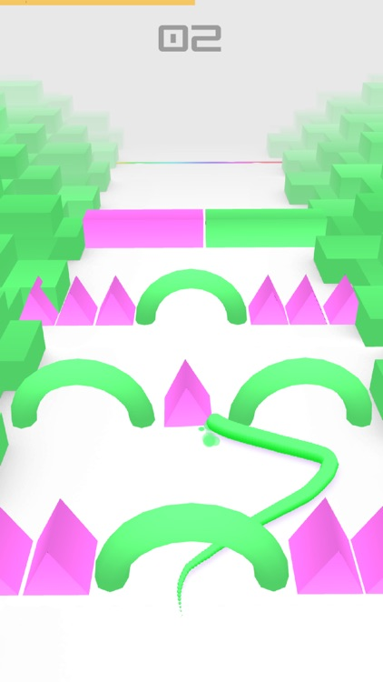 Color Snake 3D. screenshot-2