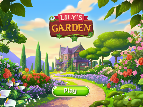iPad Image of Lily's Garden: Design & Relax!