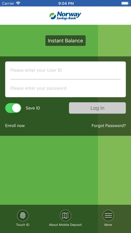 Norway Savings Mobile App