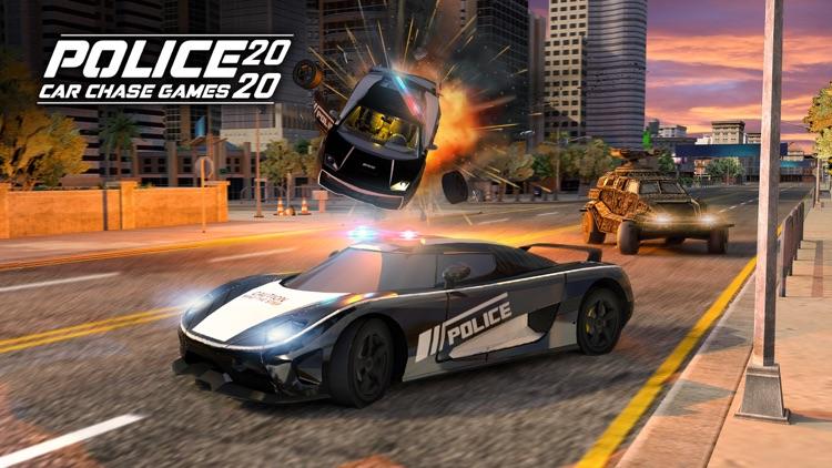 Police Car Chase Games 2020 screenshot-5