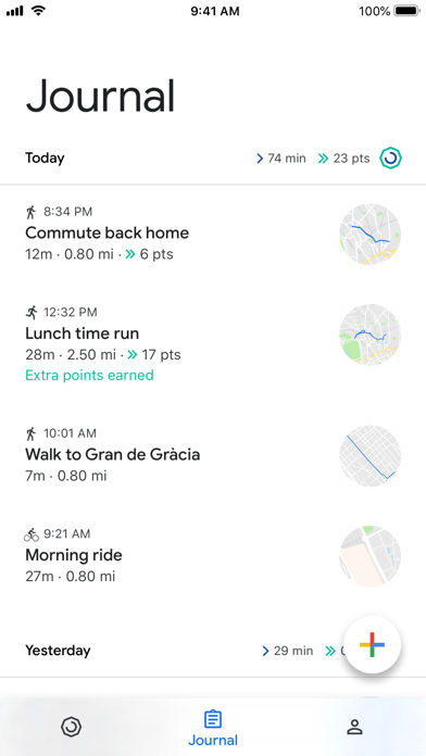 Google Fit – Activity Tracker screenshot 7
