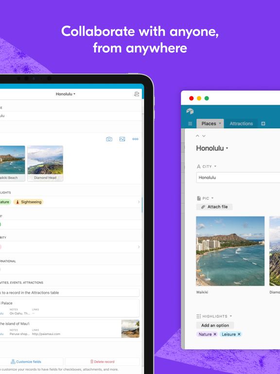 Airtable - Flexible database and organizer screenshot