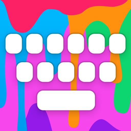 RainbowKey: Цветная Клавиатура темами шрифтами GIF