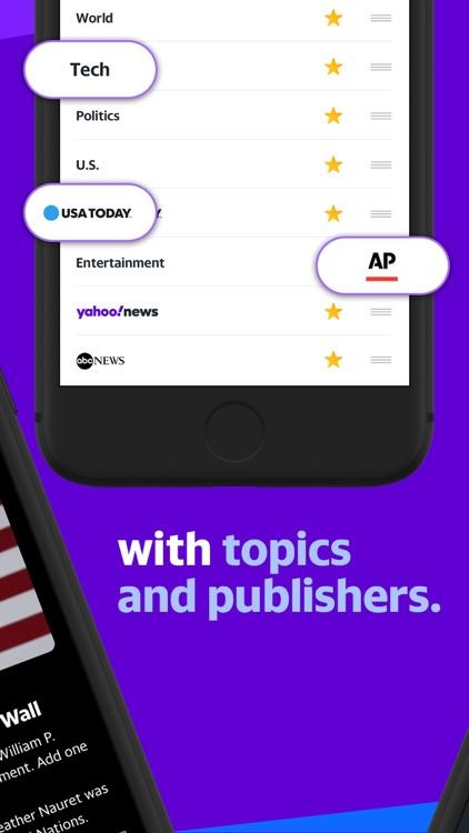 Yahoo News: Live, Breaking, US screenshot-3