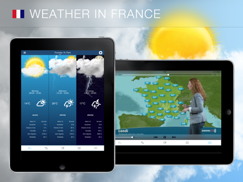 Weather for France - náhled