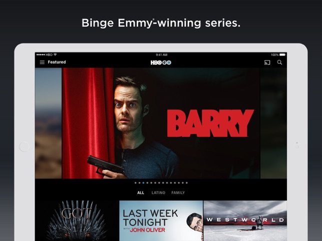 HBO GO: Stream with TV Package on the App Store