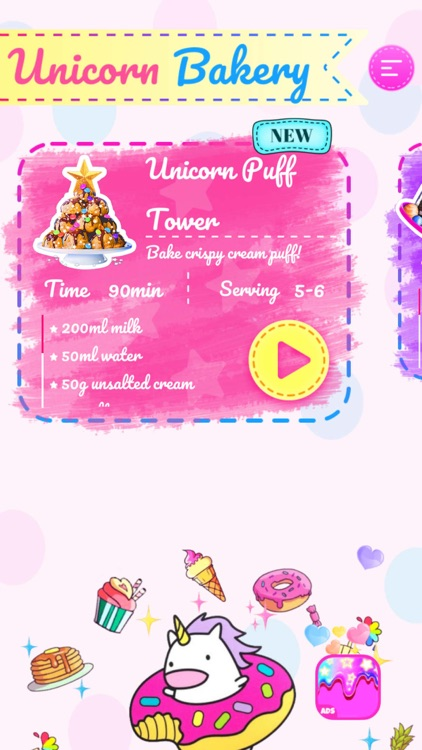 Unicorn Chef: Baking Games screenshot-4