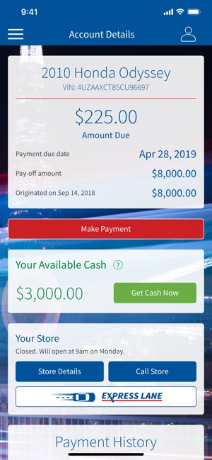 Honda Make A Payment >> Titlemax On The App Store