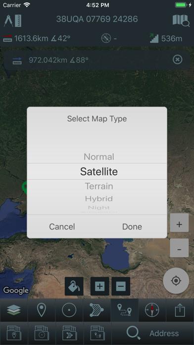Mgrs & Utm Map Screenshot