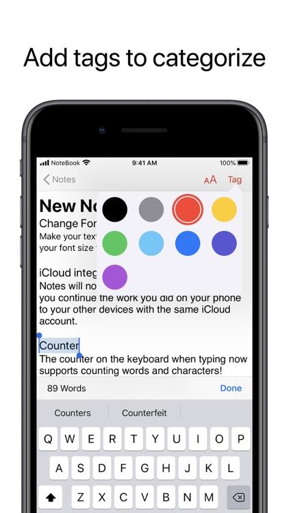 NoteBook -a note app screenshot-4