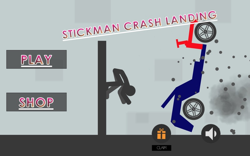 Stickman Crash Landing for Mac