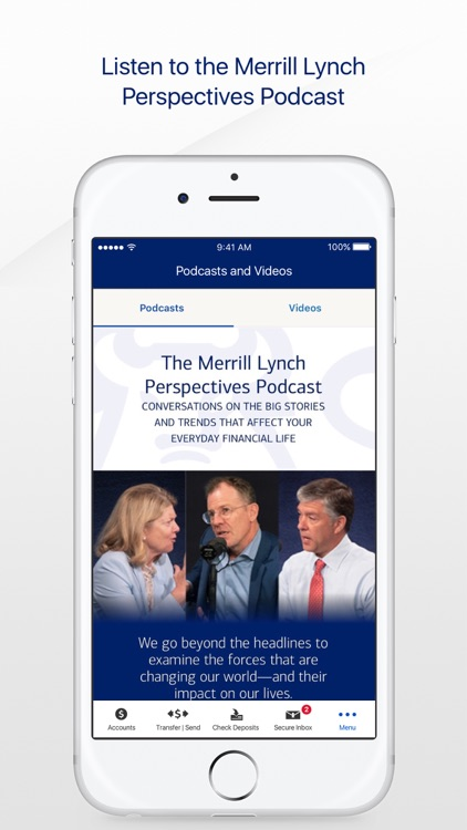 MyMerrill for iPhone