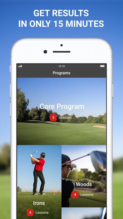15 Minute Golf Coach swing screenshot-0